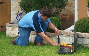 austex sprinklers yearly maintenance
